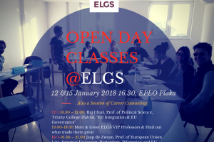 OPEN DAY Classes@ELGS